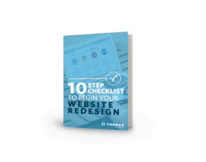 10-Step Checklist For Your Website Redesign eBook Cover