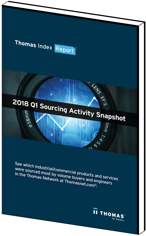 2018 Q1 Sourcing Activity Snapshot eBook Cover