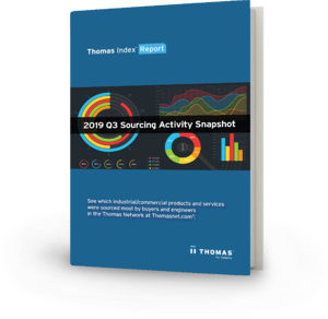 2019 Q3 Sourcing Activity Snapshot