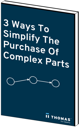3 Ways to Simplify The Purchase Of Complex Parts eBook Cover