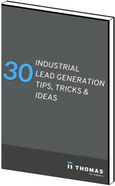 30 Industrial Lead Generation Tips eBook Cover