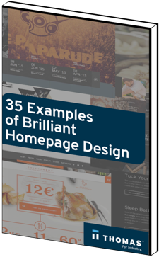 35 Examples of Brilliant Homepage Design eBook Cover