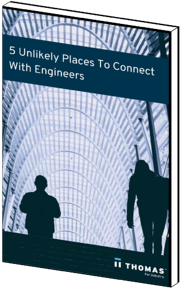 5 Unlikely Places To Connect With Engineers eBook Cover