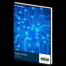 How did USTEK gain more customers and more revenues?