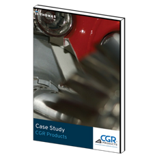 How did CGR Products generate more than $4 million in new quotes?