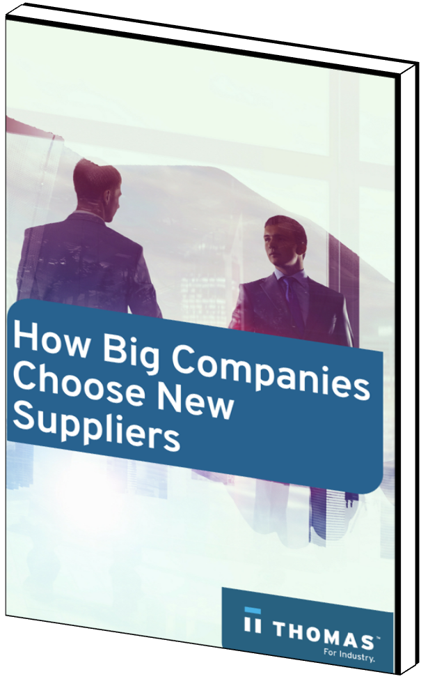 How Big Companies Choose New Suppliers