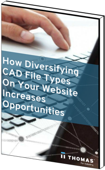 How Diversifying CAD File Types on Your Website Increases Opportunities eBook Cover