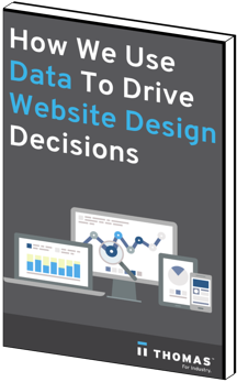 How We Used Data to Drive Website Decisions eBook Cover