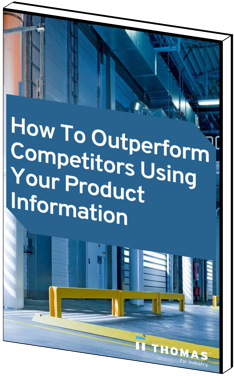 How to Outperform Competitors Using Your Product Information eBook Cover