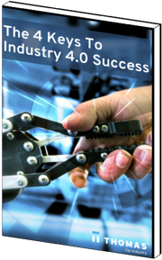 The 4 Keys To Industry 4.0 Success eBook Cover