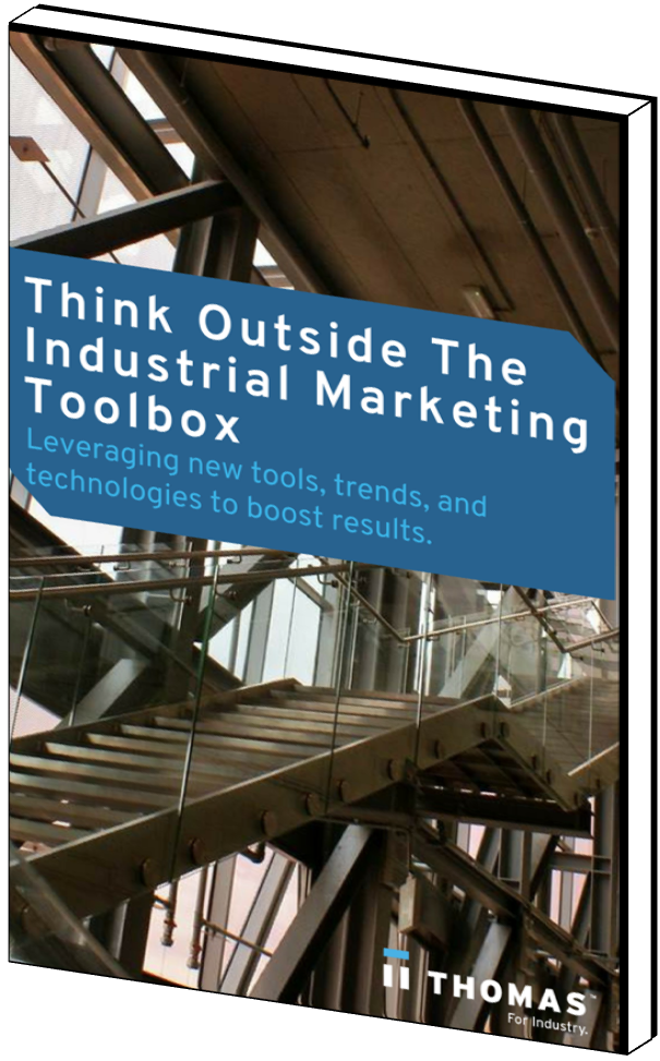 Think Outside The Industrial Marketing Toolbox eBook Cover
