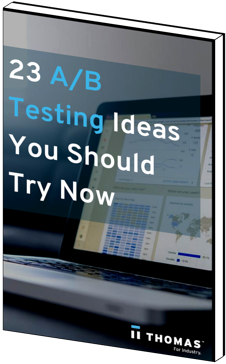 23 AB Testing Ideas eBook Cover