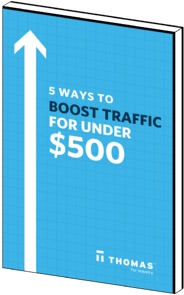 5 Ways To Boost Traffic For Under $500 eBook Cover