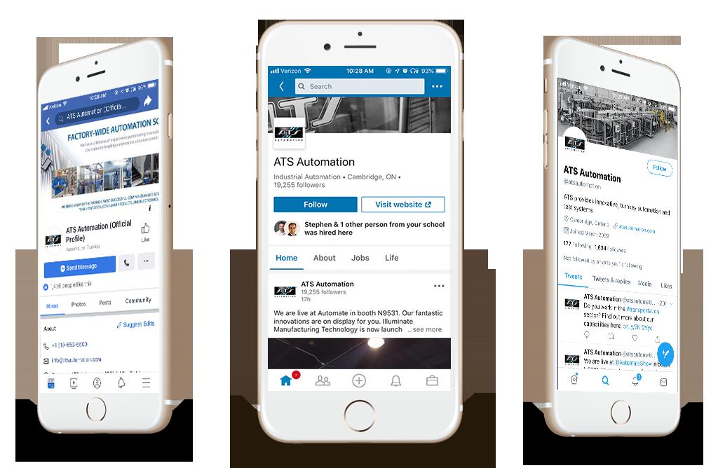 ATS Automation Social Media