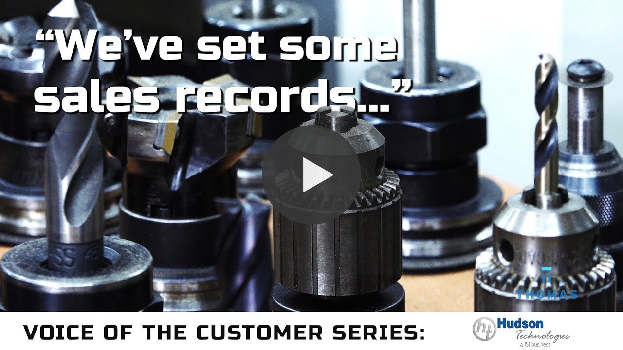 Hudson Technologies Increases The Quantity & Quality Of Leads With Thomas Video Thumbnail