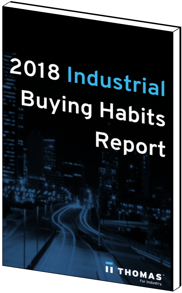 2018 Industrial Buying Habits Report Cover