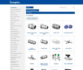 Swaglok eCommerce example