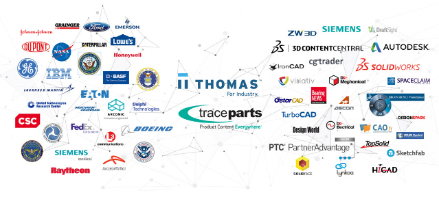 Thomas TraceParts CAD