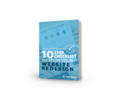 eBook - 10 Step Checklist To Begin Your Website Redesign