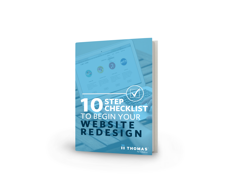 eBook - 10 Step Checklist To Begin Your Website Redesign