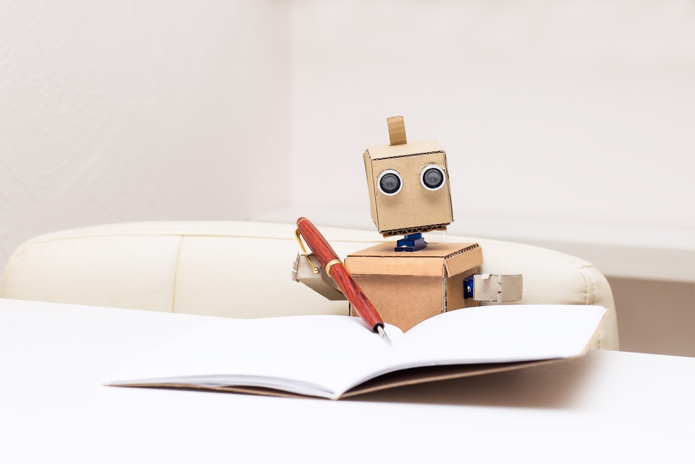 Can A Robot Write Your Marketing Materials?