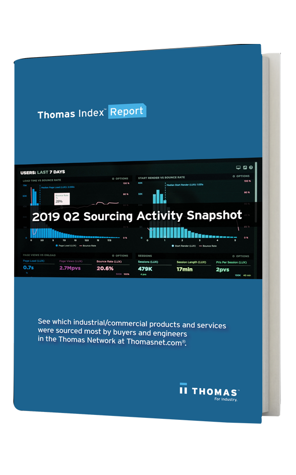 2019 Q2 Sourcing Activity Snapshot