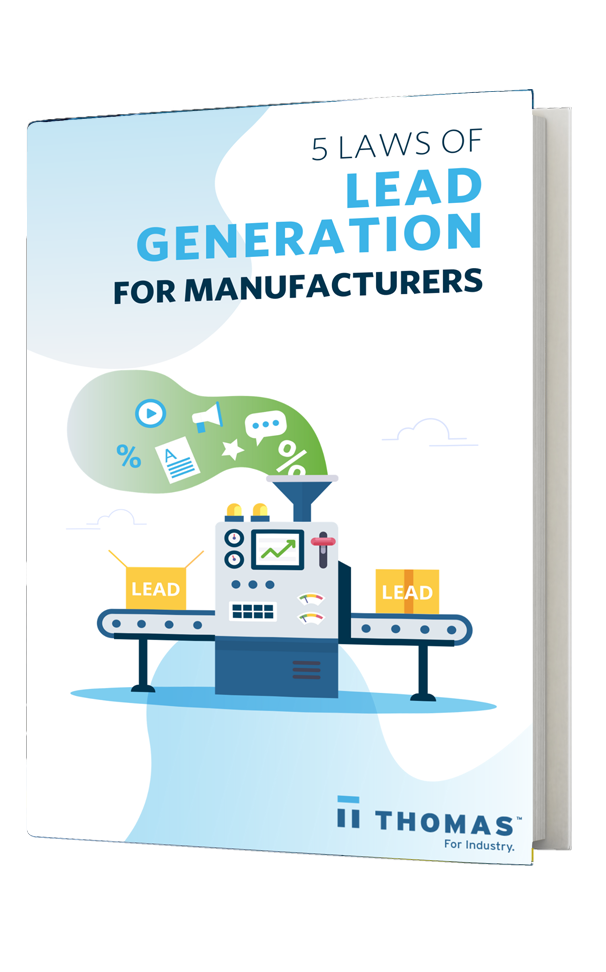 5 Laws Of Lead Generation For Manufacturers