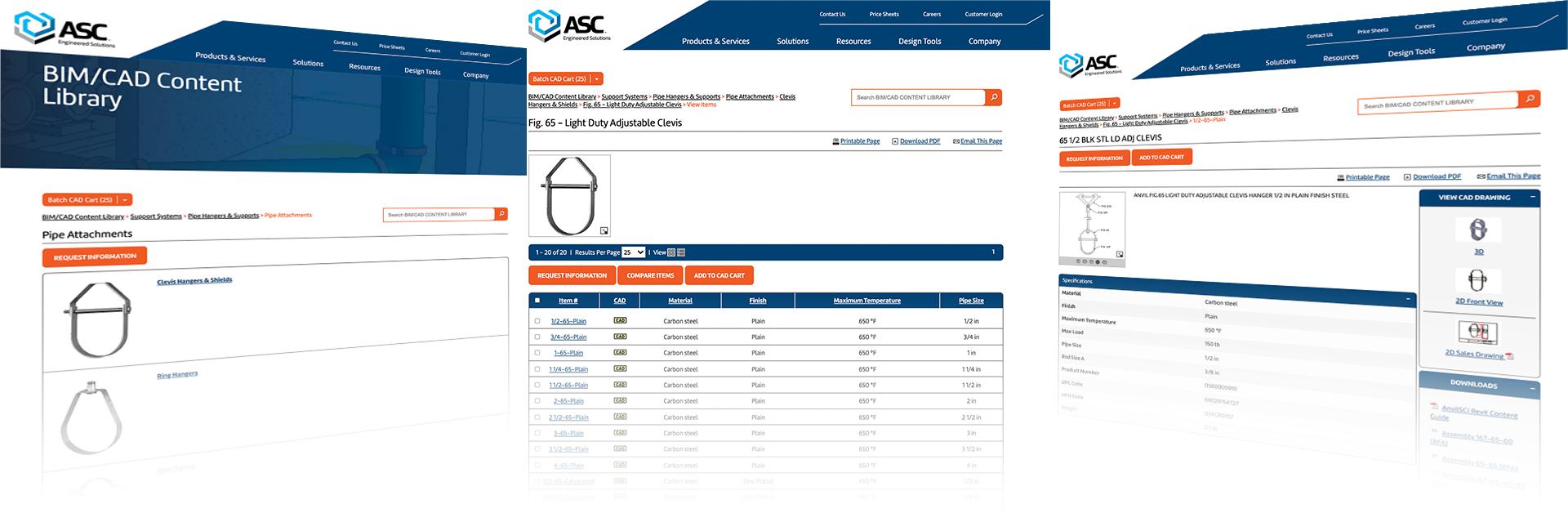 ASC Engineered Solutions Digital Customer Experience