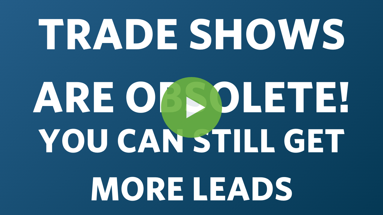 Trade Show Obsolete Webinar Thumbnail
