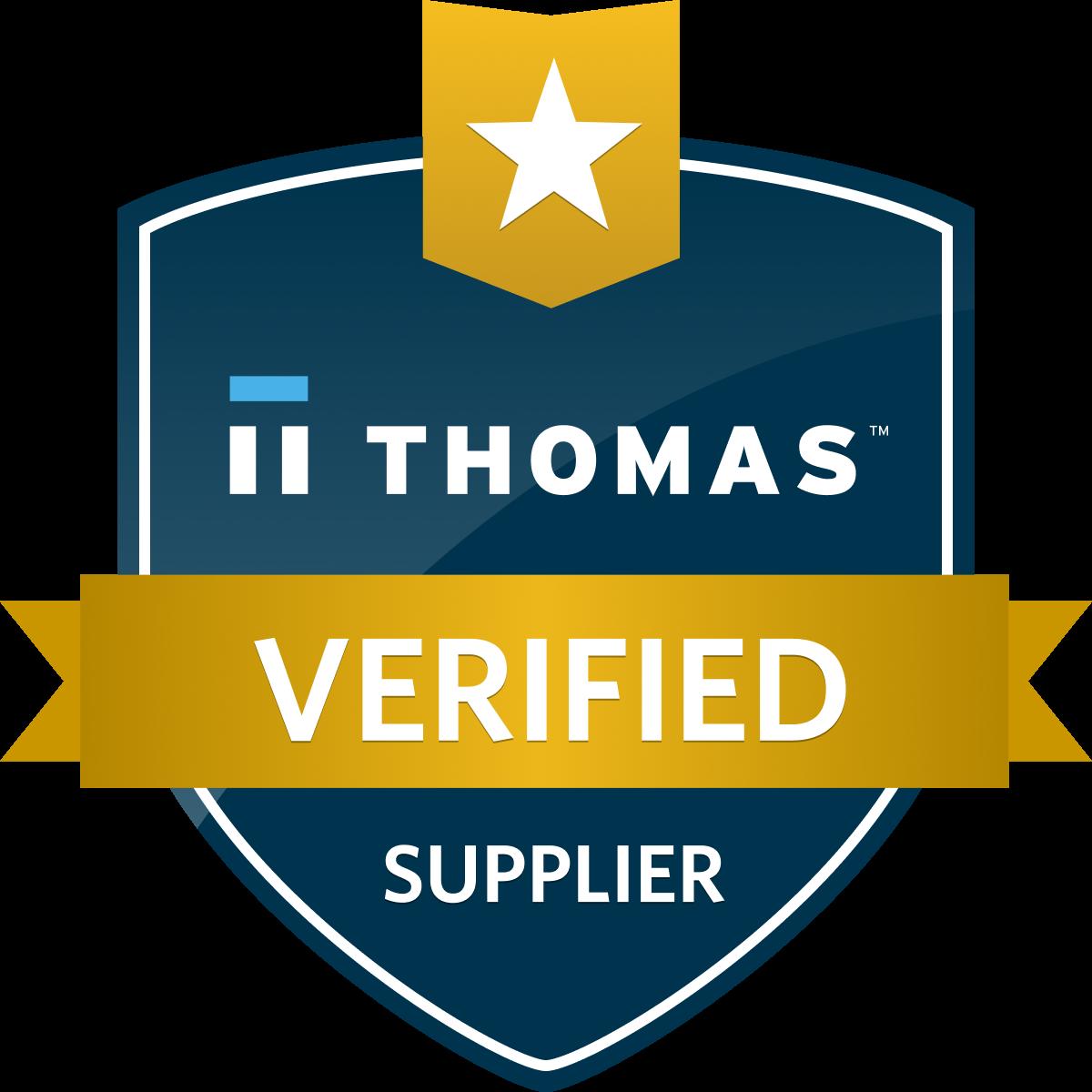 Thomas Verified Supplier