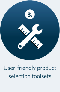 User-friendly product selection