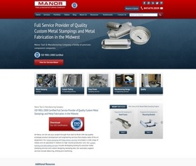 Industrial manufacturing website design thomasnet website design for industrial distributors publicscrutiny Choice Image
