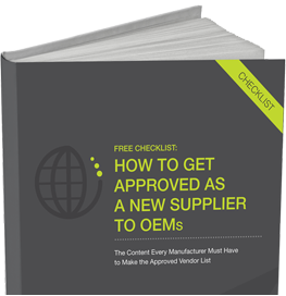 New Supplier OEM Approval