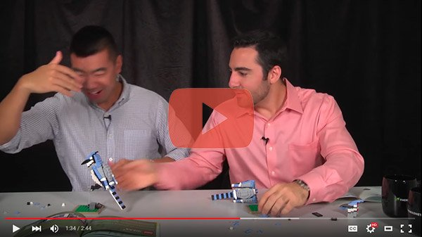 youtube video lego build-off