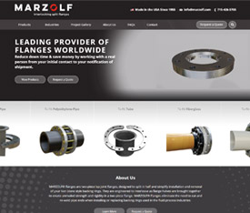 The Marzolf Company - Website design for custom manufacturers